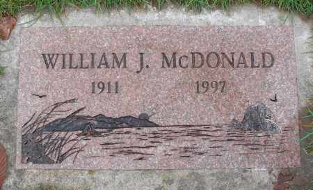 MCDONALD, WILLIAM J - Marion County, Oregon | WILLIAM J MCDONALD - Oregon Gravestone Photos