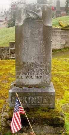 MCKINNEY, JOHN O - Marion County, Oregon   JOHN O MCKINNEY - Oregon Gravestone Photos