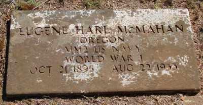 MCMAHAN (WWI), EUGENE HARL - Marion County, Oregon   EUGENE HARL MCMAHAN (WWI) - Oregon Gravestone Photos