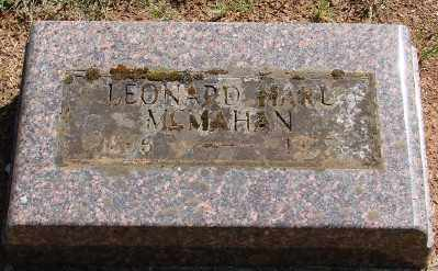 MCMAHAN, LEONARD HARL - Marion County, Oregon | LEONARD HARL MCMAHAN - Oregon Gravestone Photos