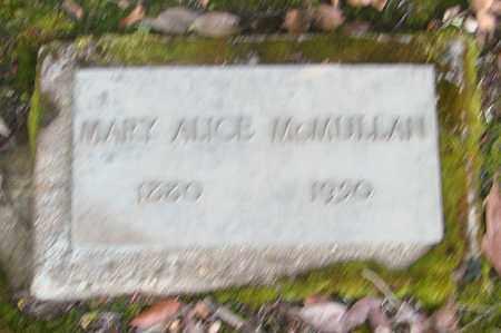 MCMULLAN, MARY ALICE - Marion County, Oregon | MARY ALICE MCMULLAN - Oregon Gravestone Photos