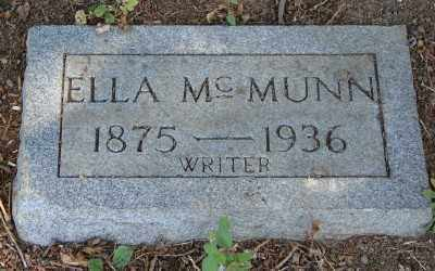 MCMUNN, ELLA - Marion County, Oregon | ELLA MCMUNN - Oregon Gravestone Photos