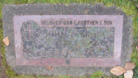 MCRAE, JOHN L - Marion County, Oregon   JOHN L MCRAE - Oregon Gravestone Photos