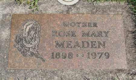 MEADEN, ROSE MARY - Marion County, Oregon   ROSE MARY MEADEN - Oregon Gravestone Photos
