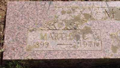 GILHAM MEANS, MARTHA ELLEN - Marion County, Oregon   MARTHA ELLEN GILHAM MEANS - Oregon Gravestone Photos