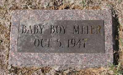 MEIER, BABY BOY - Marion County, Oregon   BABY BOY MEIER - Oregon Gravestone Photos