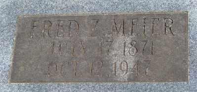 MEIER, FRED Z - Marion County, Oregon | FRED Z MEIER - Oregon Gravestone Photos