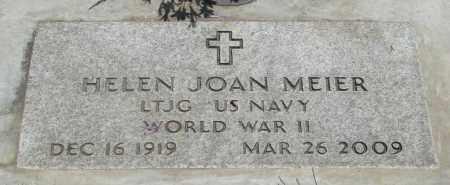 MEIER, HELEN JOAN - Marion County, Oregon | HELEN JOAN MEIER - Oregon Gravestone Photos