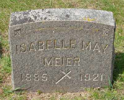 MEIER, ISABELLE MAY - Marion County, Oregon | ISABELLE MAY MEIER - Oregon Gravestone Photos