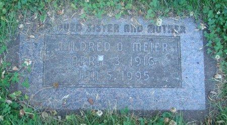MEIER, MILDRED OGDEN - Marion County, Oregon   MILDRED OGDEN MEIER - Oregon Gravestone Photos