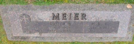 MEIER, VICTOR B - Marion County, Oregon | VICTOR B MEIER - Oregon Gravestone Photos