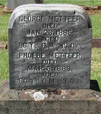 METTEER, GEORGE - Marion County, Oregon | GEORGE METTEER - Oregon Gravestone Photos