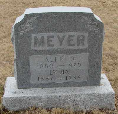 MEYER, ALFRED - Marion County, Oregon | ALFRED MEYER - Oregon Gravestone Photos