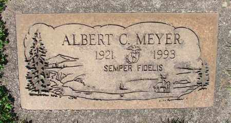MEYER, ALBERT - Marion County, Oregon | ALBERT MEYER - Oregon Gravestone Photos