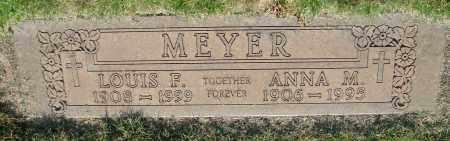MEYER, LOUIS F - Marion County, Oregon | LOUIS F MEYER - Oregon Gravestone Photos