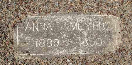 MEYER, ANNA - Marion County, Oregon | ANNA MEYER - Oregon Gravestone Photos