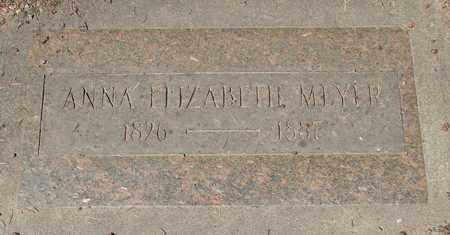 MEYER, ANNA ELIZABETH - Marion County, Oregon | ANNA ELIZABETH MEYER - Oregon Gravestone Photos