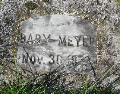MEYER, BABY - Marion County, Oregon | BABY MEYER - Oregon Gravestone Photos
