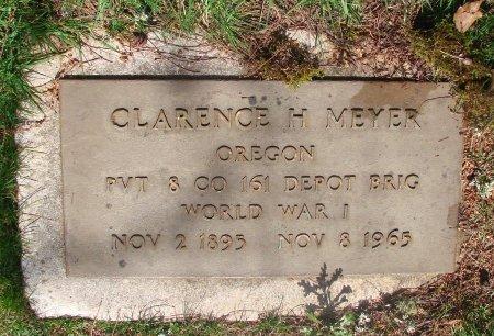 MEYER, CLARENCE H - Marion County, Oregon | CLARENCE H MEYER - Oregon Gravestone Photos