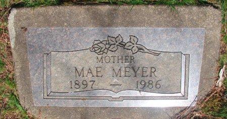 MEYER, DELLA MAE - Marion County, Oregon | DELLA MAE MEYER - Oregon Gravestone Photos