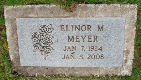 MEYER, ELINOR M - Marion County, Oregon | ELINOR M MEYER - Oregon Gravestone Photos
