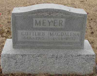 MEYER, MAGDALENA - Marion County, Oregon | MAGDALENA MEYER - Oregon Gravestone Photos