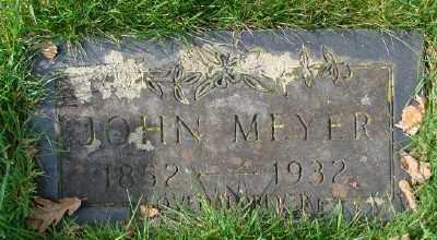 MEYER, JOHN - Marion County, Oregon   JOHN MEYER - Oregon Gravestone Photos