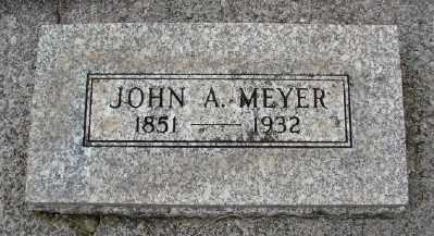 MEYER, JOHN A - Marion County, Oregon | JOHN A MEYER - Oregon Gravestone Photos