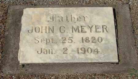 MEYER, JOHN C - Marion County, Oregon | JOHN C MEYER - Oregon Gravestone Photos