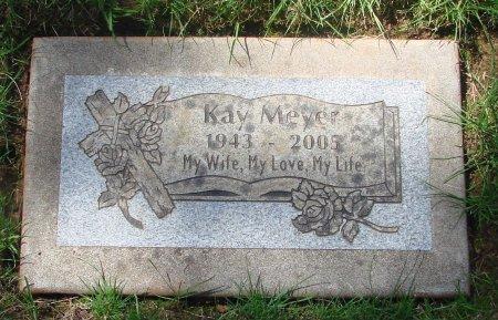 MEYER, KAY I - Marion County, Oregon | KAY I MEYER - Oregon Gravestone Photos