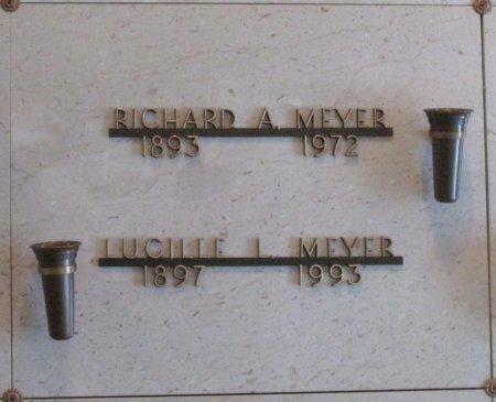 MEYER, LUCILLE L - Marion County, Oregon | LUCILLE L MEYER - Oregon Gravestone Photos
