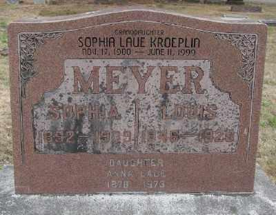 MEYER, LOUIS - Marion County, Oregon | LOUIS MEYER - Oregon Gravestone Photos