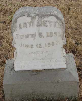 MEYER, MARY - Marion County, Oregon | MARY MEYER - Oregon Gravestone Photos