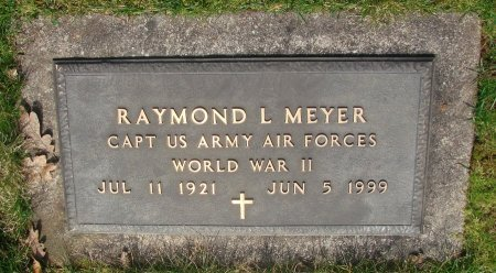 MEYER, RAYMOND L - Marion County, Oregon | RAYMOND L MEYER - Oregon Gravestone Photos