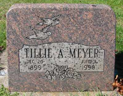 MEYER, TILLIE A - Marion County, Oregon | TILLIE A MEYER - Oregon Gravestone Photos