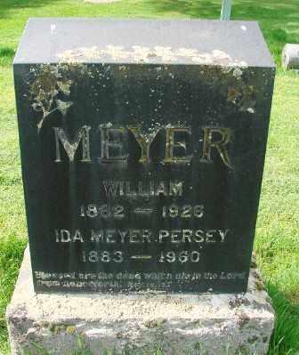MEYER, WILLIAM - Marion County, Oregon | WILLIAM MEYER - Oregon Gravestone Photos