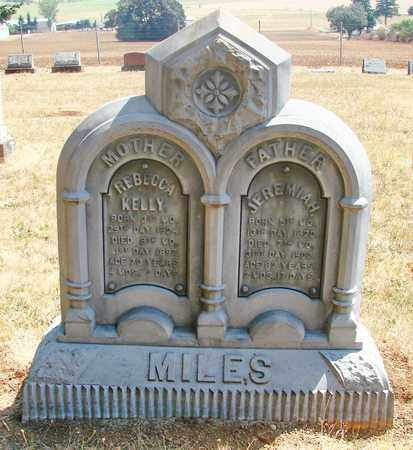 MILES, REBECCA KELLY - Marion County, Oregon | REBECCA KELLY MILES - Oregon Gravestone Photos