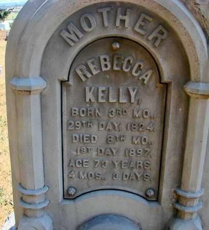 MILES, REBECCA KELLY - Marion County, Oregon   REBECCA KELLY MILES - Oregon Gravestone Photos