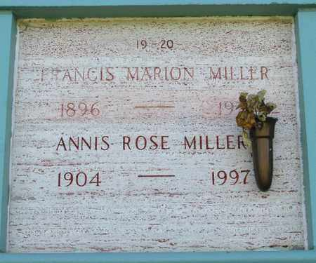 MILLER, FRANCIS MARION JR - Marion County, Oregon | FRANCIS MARION JR MILLER - Oregon Gravestone Photos