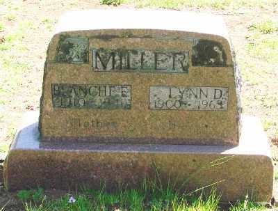 MILLER, BLANCHE EVELYN - Marion County, Oregon | BLANCHE EVELYN MILLER - Oregon Gravestone Photos
