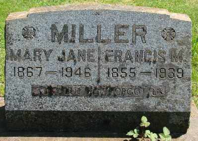 RAMP MILLER, MARY JANE - Marion County, Oregon | MARY JANE RAMP MILLER - Oregon Gravestone Photos
