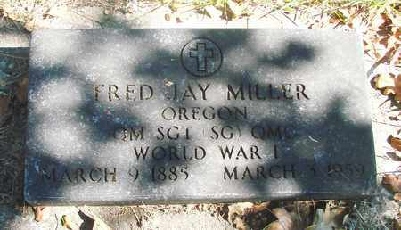 MILLER (WWI), FRED JAY - Marion County, Oregon   FRED JAY MILLER (WWI) - Oregon Gravestone Photos