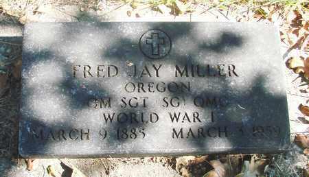 MILLER, FRED JAY - Marion County, Oregon | FRED JAY MILLER - Oregon Gravestone Photos
