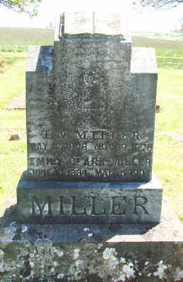 MILLER, EMALINE - Marion County, Oregon | EMALINE MILLER - Oregon Gravestone Photos