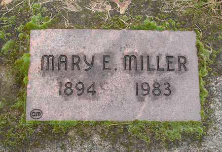 MILLER, MARY E - Marion County, Oregon   MARY E MILLER - Oregon Gravestone Photos