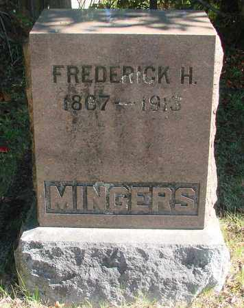 MINGERS, FREDERICK HENRY - Marion County, Oregon   FREDERICK HENRY MINGERS - Oregon Gravestone Photos