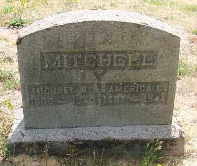 MITCHELL, MICHAEL B - Marion County, Oregon | MICHAEL B MITCHELL - Oregon Gravestone Photos