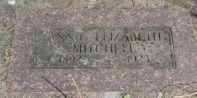 MITCHELL, ANNIE ELIZABETH - Marion County, Oregon | ANNIE ELIZABETH MITCHELL - Oregon Gravestone Photos