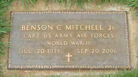 MITCHELL, BENSON C JR - Marion County, Oregon   BENSON C JR MITCHELL - Oregon Gravestone Photos