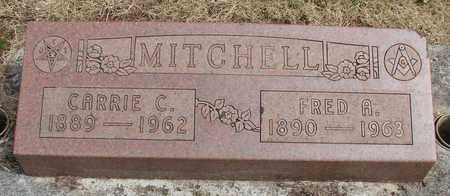 MITCHELL, FRED A - Marion County, Oregon | FRED A MITCHELL - Oregon Gravestone Photos